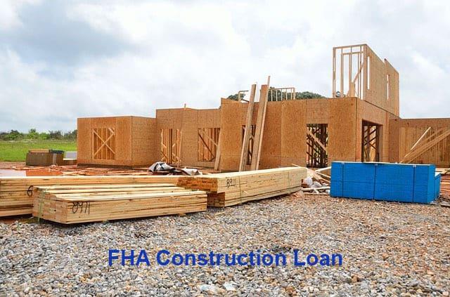 fha construction single close program